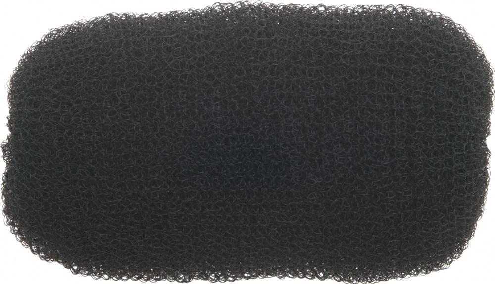 Dewal professional валик для прически, сетка, черный d 12 см