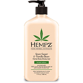 """HEMPZ ������� ����������� ��� ���� """"�������� � ������"""" / Sugar&Vanilla bean Herbal Moisturizer 500��~"""