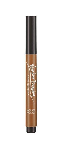 HOLIKA HOLIKA Кушон-тинт для бровей Вандер Дроуинг, 01 светло-коричневый / Wonder Drawing Cushion Tint Brow Light Brown