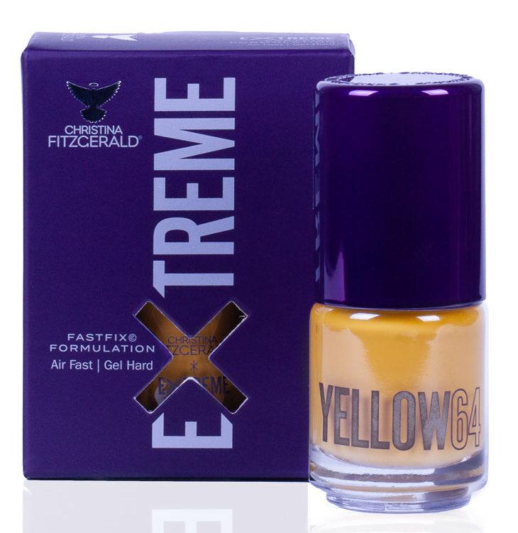 Купить CHRISTINA FITZGERALD Лак для ногтей 64 / YELLOW EXTREME 15 мл, Желтые