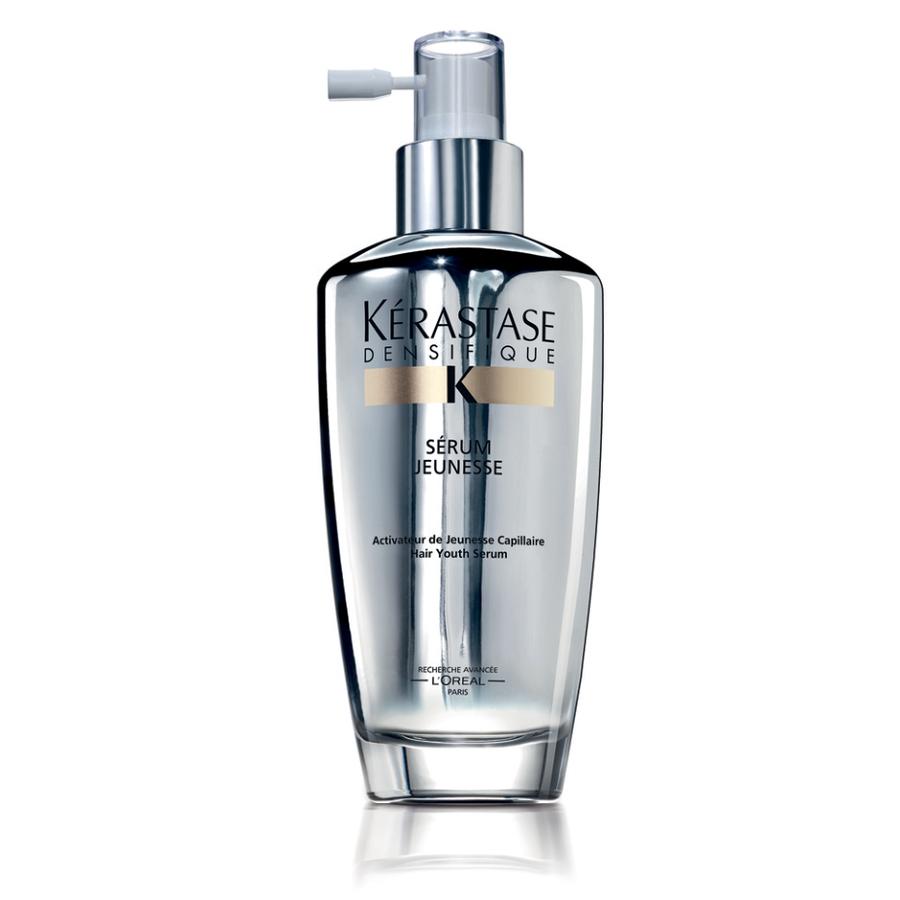 KERASTASE Сыворотка-активатор густоты волос / DENSIFIQUE 120млСыворотки<br>Сыворотка сохраняет способность волос оставаться  молодыми , защищает кожу головы от окислительного стресса, который вызывает потерю меланина. Волокна волос восстанавливают свою первоначальную молодость и поражают своей гибкостью. Визуально увеличивает плотность и толщину волос без утяжеления. Уже после 1-го нанесения волосы выглядят более блестящими и послушными от корней до кончиков . День за днем активизируются признаки молодости волос: густота, объем, блеск и послушность. После прохождения курса в течении 3-х месяцев может появиться 1 000 новых волос. Активные ингредиенты: Стемоксидин - запатентованная молекула,способная пробудить спящие волосяные фолликулы,возобновить рост волос и увеличить густоту.&amp;nbsp; Гиалуроник - Стимулирует обменные процессы , предотвращает старение , обеспечивает оптимальный уровень влажности на волосах и коже головы.&amp;nbsp; Глюко-пептиды- стимулируют регенерацию волосяных фолликулов,укрепляют корни волос и структуру кожи головы,улучшают микроциркуляцию крови в коже головы,ускоряют процессы обмена.&amp;nbsp; Керамиды- проникают внутрь волоса, укрепляют его структуру, наполняя элементами, которые были утеряны в результате повреждений и внешних воздействий (укладка феном, окрашивание, химическая завивка и др.).&amp;nbsp; Комплекс антиоксидантов помогает защитить волосы и кожу головы от негативного воздействия . Способ применения: наносить 1 раз в день на сухие или влажные волосы.<br><br>Объем: 120 мл