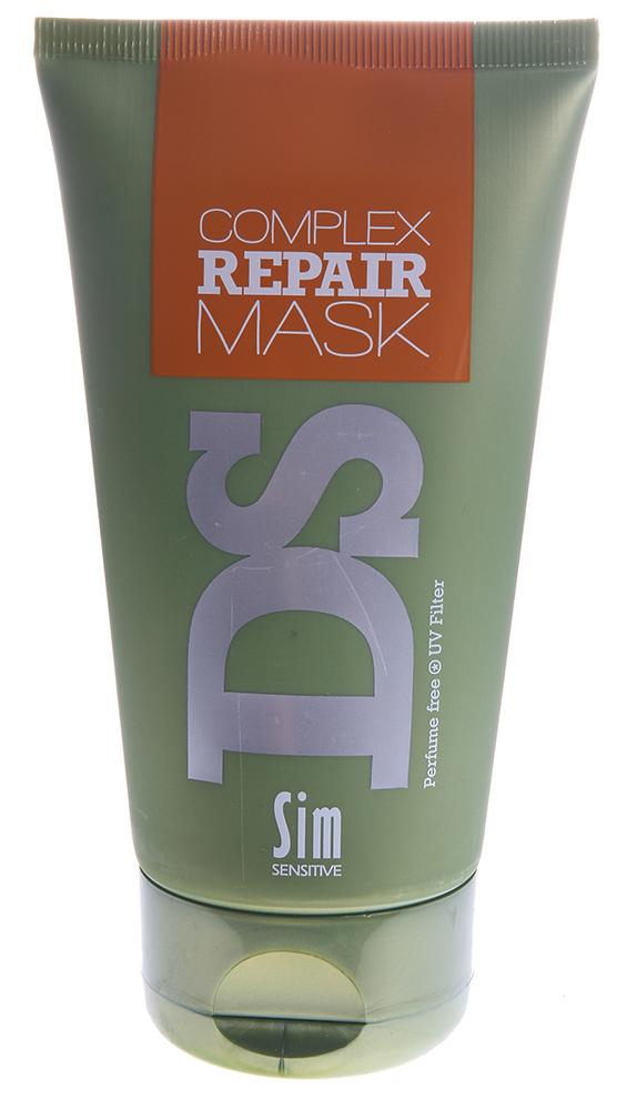 SIM SENSITIVE Маска для восстановления волос Рипеир Комплекс / Complex Repair Mask DS 150млМаски<br>Маска &amp;laquo;Рипеир&amp;raquo; входит в состав  Рипеир  комплекса DS by Sim Sensitive. Основной задачей маски является интенсивное восстановление и увлажнение волос. Глубоко проникающие в структуру волоса ингредиенты маски гарантируют восстановление сухих и поврежденных волос, результат заметен уже после первого применения. Активные ингредиенты: Аргановое масло в увеличенной концентрации, масло ши (карите), протеины пшеницы, гидролизованный белок и рапсовое масло. Маска также снабжена УФ-фильтром, защищающим волосы от ультрафиолета. Маска не содержит сульфаты, парабены и ароматизаторы. Способ применения: Нанесите на вымытые шампунем волосы и оставьте на 15-20 минут; затем смойте.<br><br>Вид средства для волос: Аргановое