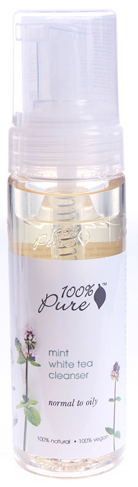 "100 PURE ����� ��� �������� ""���� � ����� ���"" / MINT WHITE TEA COLLECTION 177��"