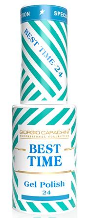 GIORGIO CAPACHINI 24 гель-лак трехфазный для ногтей / BEST TIME 8 мл.