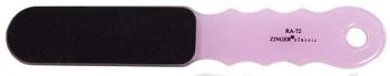 ZINGER Терка педикюрная наждачная двухсторонняя / zo-RA-72 pinkТерки для ног<br>Терка педикюрная наждачная двухсторонняя. Цвет: розовый.<br><br>Назначение: Мозоли