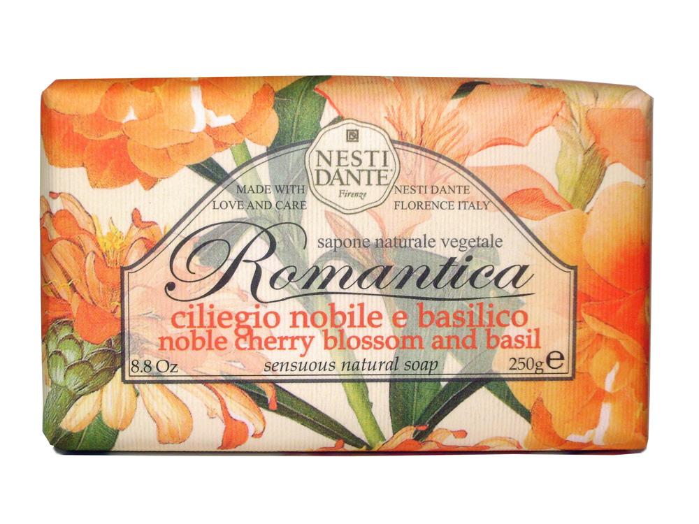 NESTI DANTE Мыло романтика Вишневый цвет и базилик / Romantica 250 г