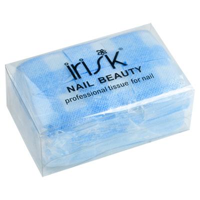 IRISK PROFESSIONAL Салфетки безворсовые 4*4 см, 03 голубые 750 шт