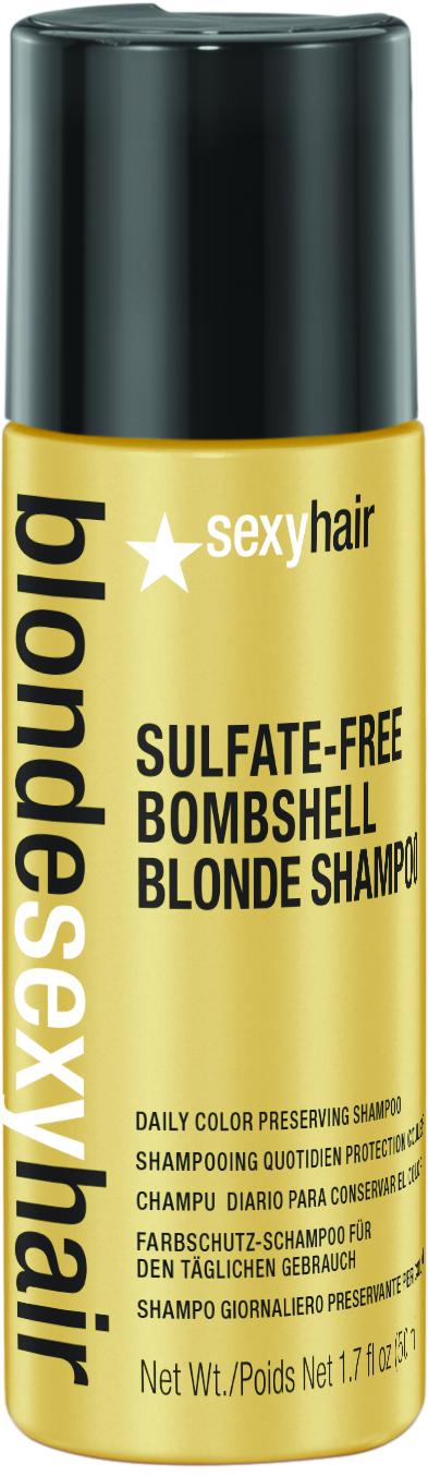 SEXY HAIR Шампунь для сохранения цвета блонд без сульфатов / BLOND 50мл