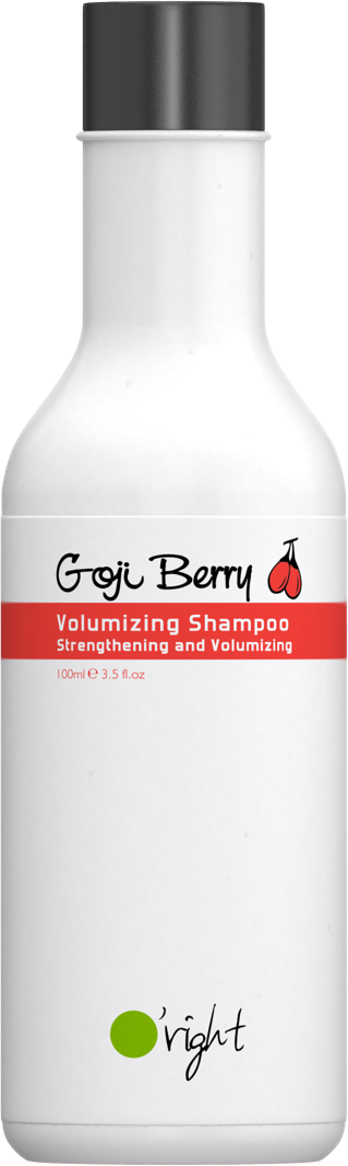 O'RIGHT Шампунь для объема тонких, слабых волос Ягода годжи / Goji Berry Volumizing Shampoo 100 мл -  Шампуни