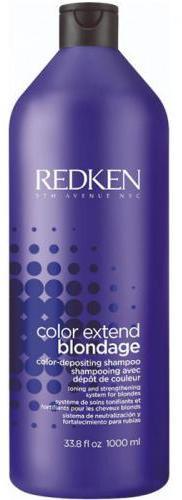 REDKEN Шампунь с ультрафиолетовым пигментом для тонирования и укрепления оттенков блонд Блондаж / COLOR EXTEND BLONDAGE 1000 мл