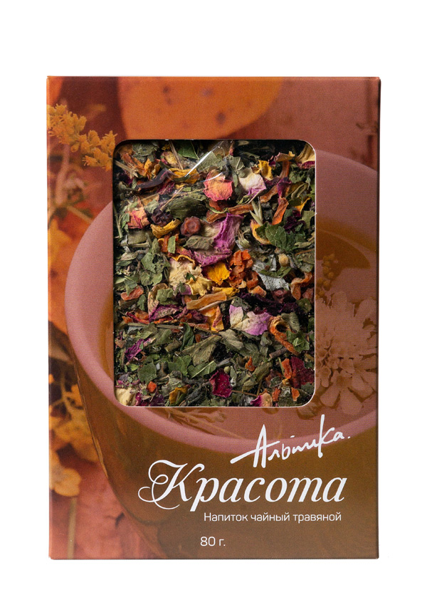 Купить АЛЬПИКА Напиток чайный Красота 80 г