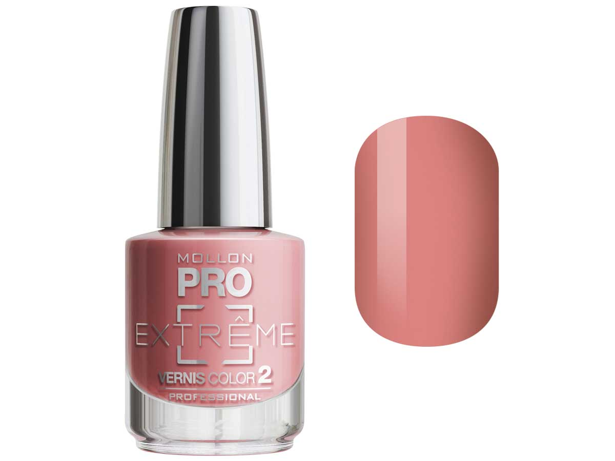 MOLLON PRO Покрытие для ногтей цветное / Extreme Vernis Color  05 10млЛаки<br>Mollon PRO EXTREME 3 STEPS VERNIS   это инновационная, трехфазная система для стилизации ногтей. Благодаря формуле, обогащенной полимерами, продукты высыхают при естественном освещении, что позволяет сохранить эффект супер блеска на ногтях до 10 дней. Продукты наносятся как классический лак для ногтей, смываются жидкостью для снятия лака с ацетоном без компресса. EXTREME VERNIS COLOR COAT 2 - основной цвет очень гибкий, быстро сохнет и дает интенсивный цвет уже после первого цветного слоя. Способ нанесения: - Сделайте маникюр и обезжирьте ногтевую пластину. - Нанесите базу Mollon PRO Extreme Base Smooth Coat -1, дайте просохнуть 1 минуту. - Нанесите два слоя цветного лака Mollon PRO Extreme -2, интервал между слоями 2 минуты. - Покройте сверху закрепителем Mollon PRO Extreme Gloss Top Coat -3. - Оставьте на 10 минут для высыхания. Для снятия покрытия используйте жидкость для снятия лака.<br><br>Цвет: Розовые<br>Класс косметики: Профессиональная<br>Виды лака: Глянцевые