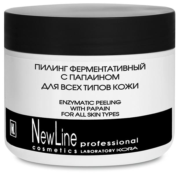 NEW LINE PROFESSIONAL Пилинг ферментативный с папаином для всех типов кожи 300мл