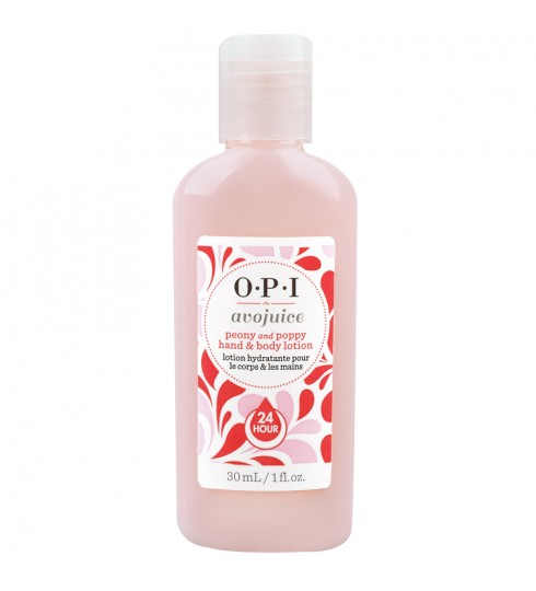 OPI Лосьон для рук и тела Peony quot; / Avojuice Hand  Body Lotion 30мл