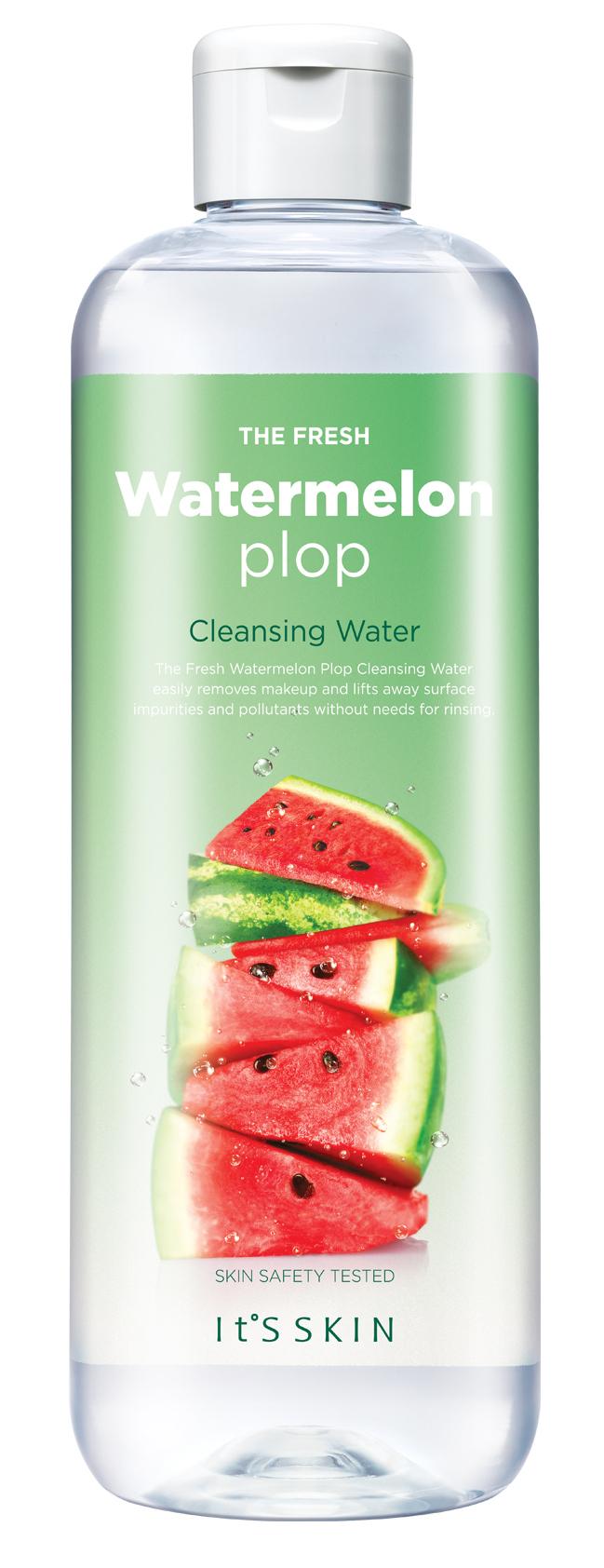 It'S SKIN Вода мицеллярная Фреш Плоп, арбуз / The Fresh Plop Cleansing Water Watermelon 520 мл