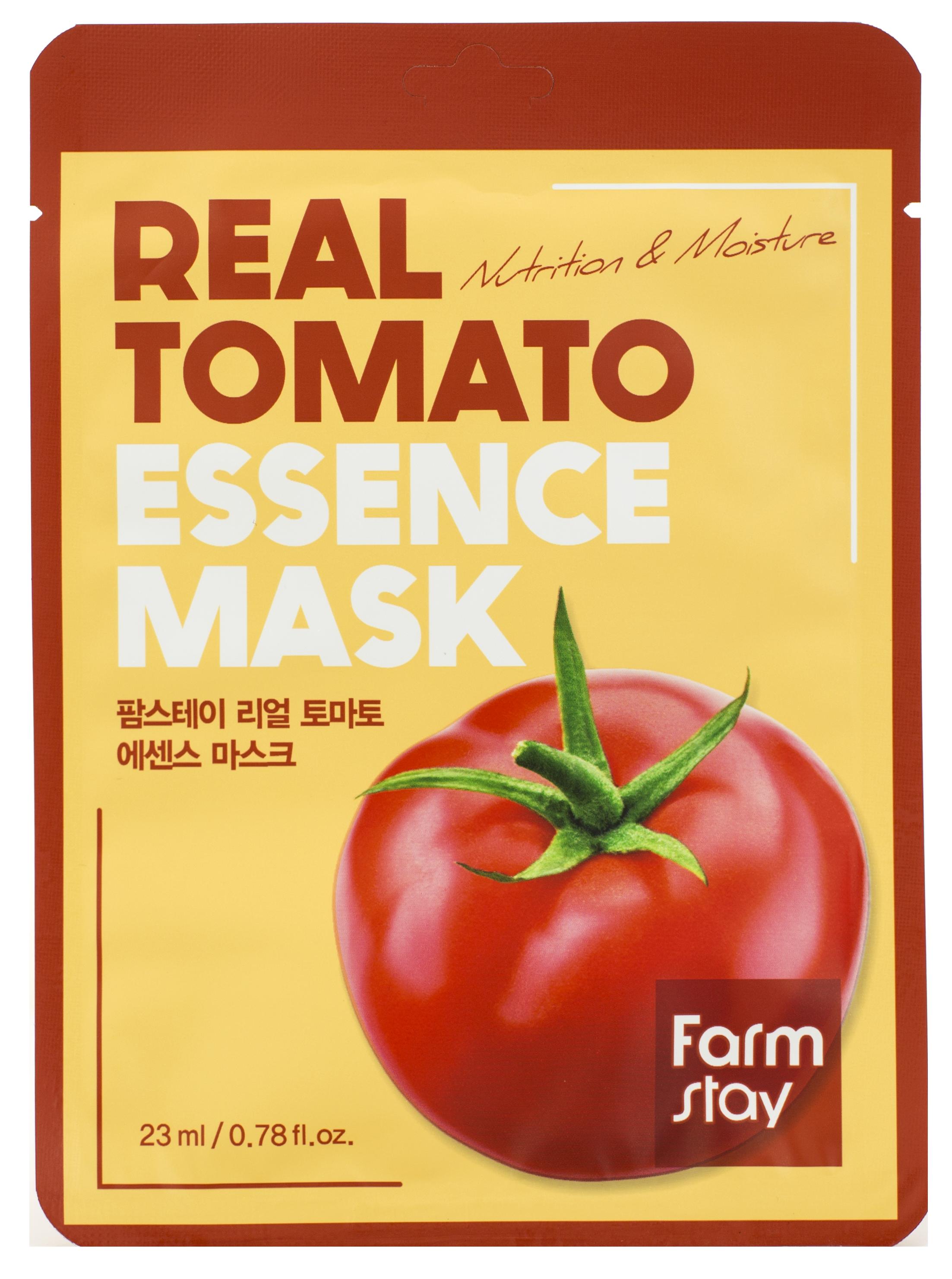 Купить FARMSTAY Маска тканевая с экстрактом томата для лица 23 мл