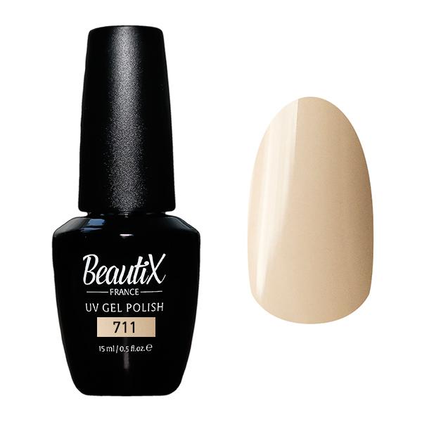 Купить BEAUTIX 711 гель-лак для ногтей 15 мл, Коричневые