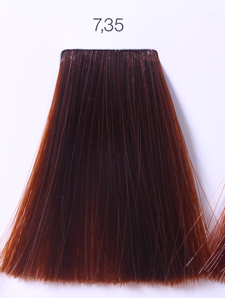 LOREAL PROFESSIONNEL 7.35 краска для волос / ИНОА ODS2 60грКраски<br>INOA - первый краситель, позволяющий достичь желаемых результатов окрашивания, окрашивать тон в тон, осветлять волосы на 3 тона, идеально закрашивает седину и при этом не повреждает структуру волос, поскольку не содержит аммиака. Получить стойкие, насыщенные цвета позволяет инновационная технология Oil Delivery System (ODS) система доставки красителя при помощи масла. Благодаря удивительному действию системы ODS при нанесении, смесь, обволакивая волос, как льющееся масло, проникает внутрь ткани волос, чтобы создать безупречный цвет. Уникальность системы ODS состоит также в ее умении обогащать структуру волоса активными защитными элементами, который предотвращает повреждения и потерю цвета.  После использования красителя окислением без аммиака Inoa 4.20 от LOreal Professionnel волосы приобретают однородный насыщенный цвет, выглядят идеально гладкими, блестящими и шелковистыми, как будто Вы сделали окрашивание и ламинирование за одну процедуру.  Способ применения: Приготовьте смесь из красителя Inoa ODS 2 и Оксидента Inoa ODS 2 в пропорции 1:1. Нанесите смесь на сухие или влажные волосы от корней к кончикам. Не добавляйте воду в смесь! Подержите краску на волосах 30 минут. Затем тщательно промойте волосы до получения чистой, неокрашенной воды.<br><br>Цвет: Корректоры и другие<br>Типы волос: Для всех типов