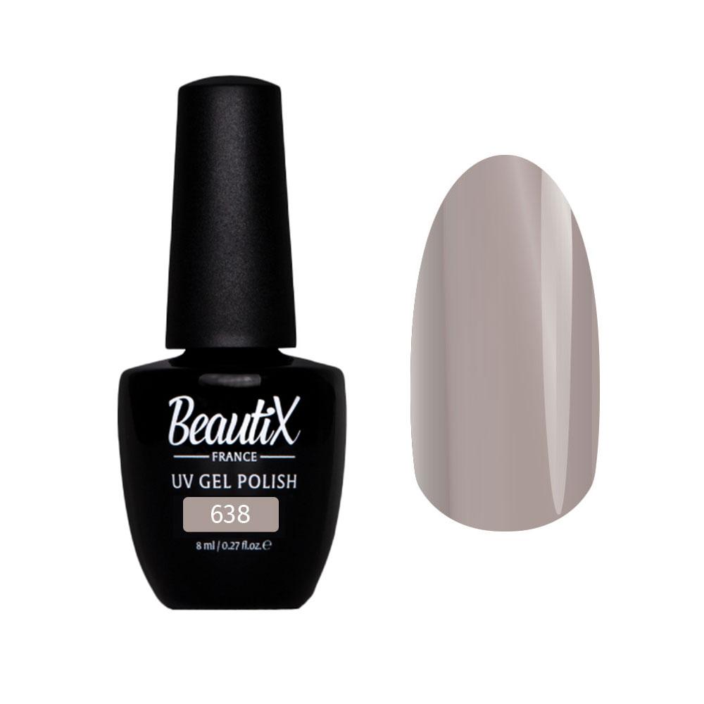 Купить BEAUTIX 638 гель-лак для ногтей 8 мл, Серые