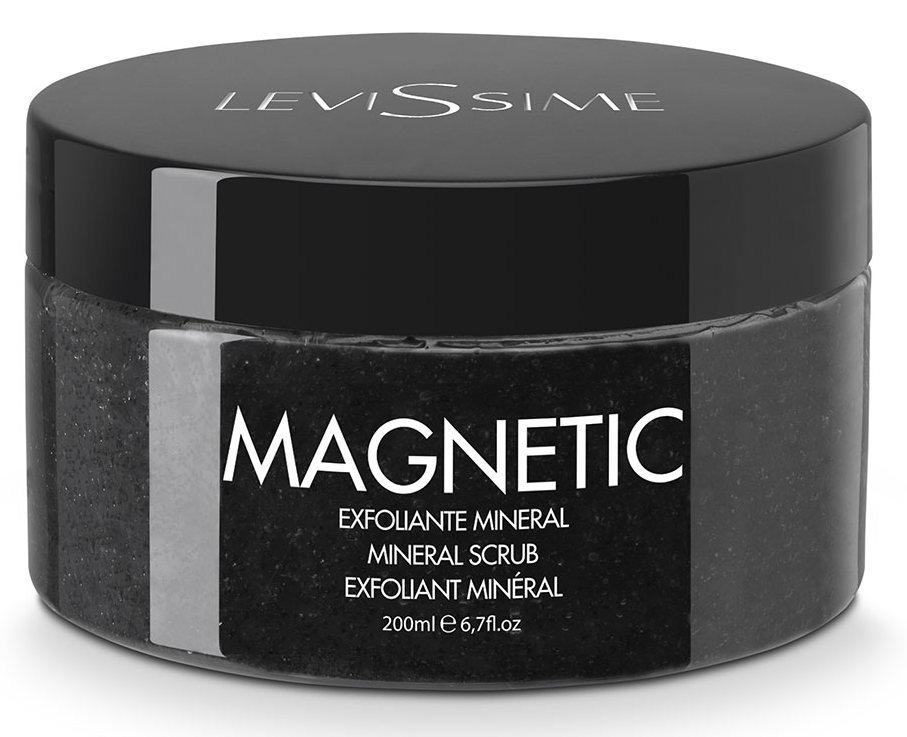 LEVISSIME Скраб минеральный с лунным камнем / Magnetic Mineral Scrub 200 мл