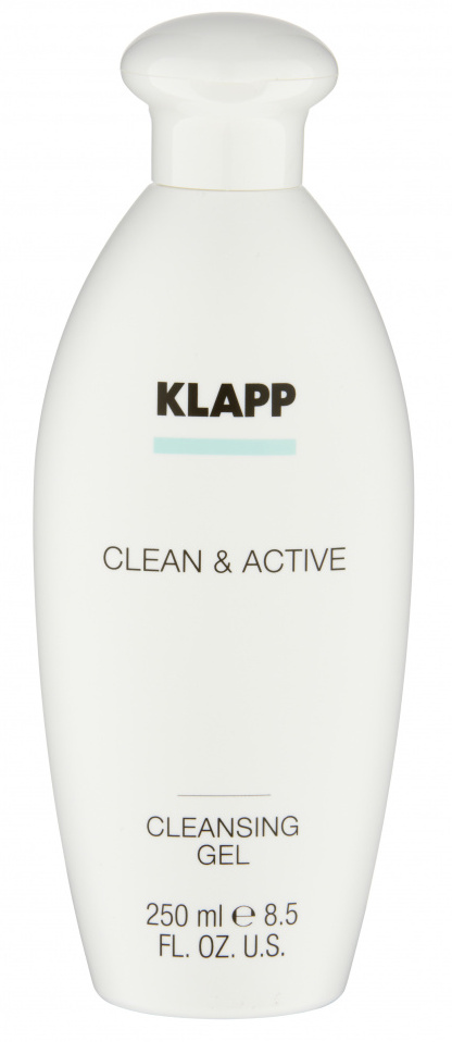 Купить KLAPP Гель очищающий для лица / CLEAN & ACTIVE 250 мл