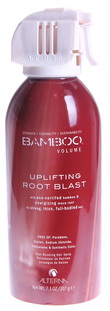 ALTERNA Спрей невесомый для максимального объема / BAMBOO VOLUME 207грСпреи<br>Альтерна BAMBOO VOLUME Weightless Whipped Mousse Мусс  Невесомый мусс для утолщения волос с органическим экстрактом бамбука. Содержит фито-питательные вещества органического компонента листьев дамианы. Насыщает волосы жизненной силой и укрепляет их. Придает объем от корней и до самых кончиков.  Органический экстракт бамбука: незамедлительно возвращает волосам их внутреннюю силу, гибкость, устойчивость и здоровье. Органические листья дамианы: естественный стимулятор, бодрящий для волос компонент. Благодаря этому ингредиенту волосы выглядят более плотными и здоровыми.  Новая технология придания объема: в состав продукта входят полимеры, которые увлажняют и придают объем на 48 часов. Не приводит к сухости и склеиванию волос. Не содержат: парабенов, глютенов, хлорида натрия, флататов и синтетических красителей. При этом производство не наносит вред окружающей среде. Не тестируется на животных.   Особенности:  &amp;bull; Увеличивает объем и утолщает волосы от корней и до самых кончиков.    Сохраняет объем в течение дня.    Придает естественный объем, не утяжеляет волосы.    Не приводит к липкости и жесткости волос.    Защищает цвет.  Способ применения: Выдавить небольшое количество несмываемого крема и нанести на влажные волосы. Распределить по всей длине, уделяя особое внимание корням волос. Выполнить укладку. Избегать попадания в глаза.<br><br>Вид средства для волос: Несмываемый<br>Класс косметики: Натуральная<br>Назначение: Выпадение