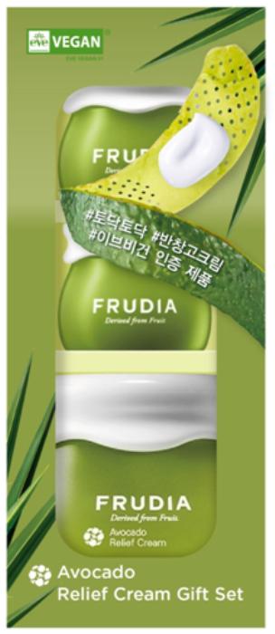 Купить FRUDIA Набор подарочный восстанавливающих кремов с авокадо 55 мл + 2 х 10 мл
