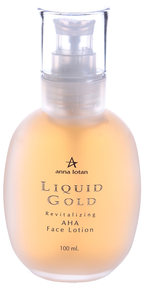 "ANNA LOTAN ������-���� �������� ��� ���� ""�������"" / Revitalizing AHA Face Lotion LIQUID GOLD 100��"