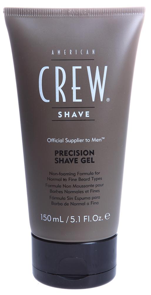 AMERICAN CREW Гель непенящийся прозрачный и освежающий для бритья / Precision Shave Gel 125млДля бритья<br>Не пенящаяся формула для точного бритья. Благодаря применению этого геля бритва легко скользит по коже. Легко смывается с кожи. После применения геля Ваша кожа будет идеально гладкой и прохладной.  Способ применения: Нанесите гель на влажную кожу лица, сбрейте щетину. Смойте водой.<br><br>Объем: 125 мл.