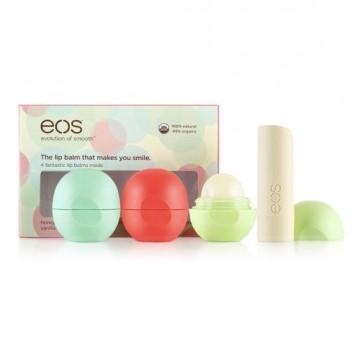 EOS Набор бальзамов для губ / Smooth Stick Multipack 4-Pack Lip Balm (4 вкуса)