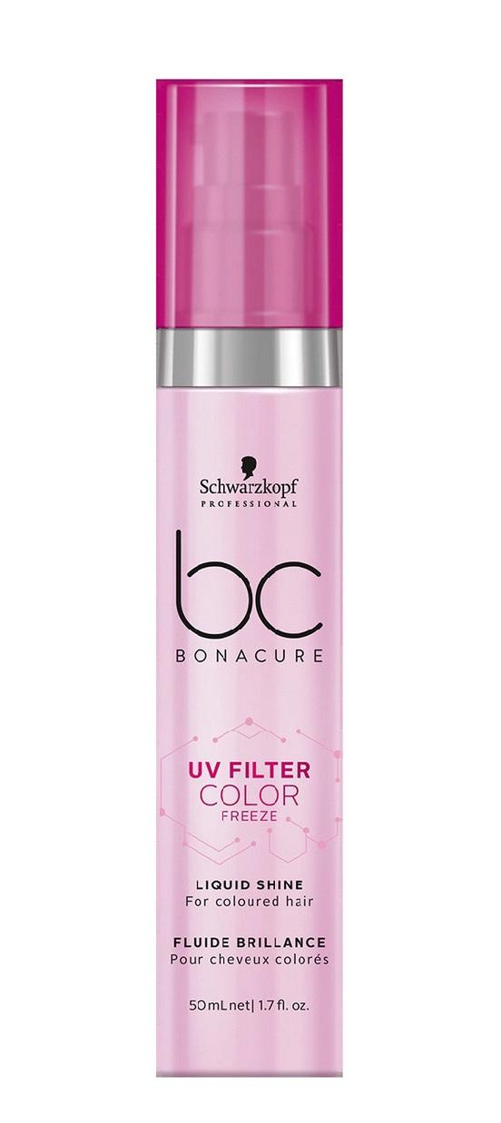 Купить SCHWARZKOPF PROFESSIONAL Сыворотка для блеска / BC UV Filter Color Freeze 50 мл