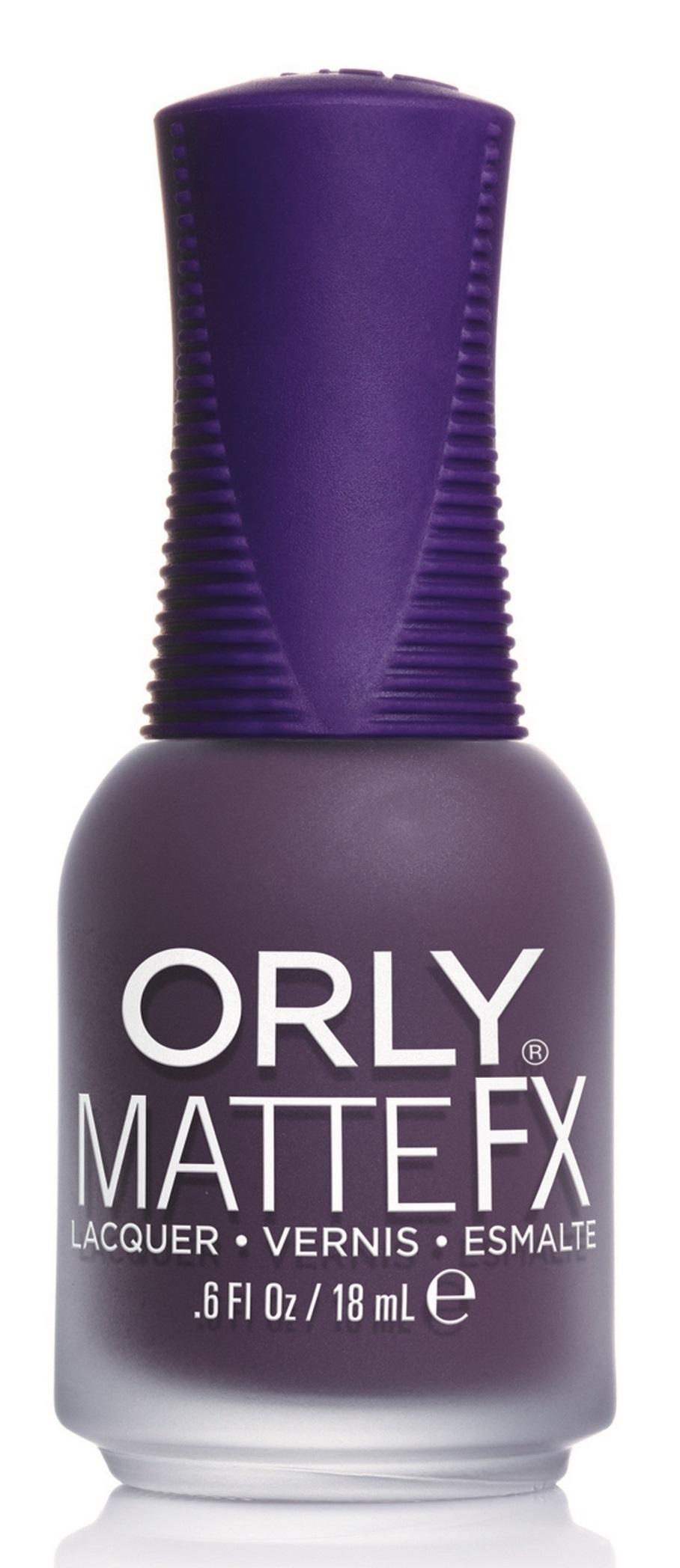 ORLY Лак для ногтей 812 Purple Velvet / MATTE -  Лаки