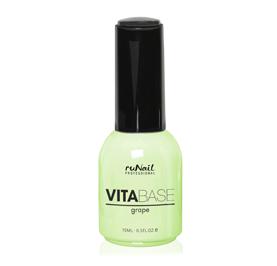 RuNail Основа для гель-лака с маслом виноградных косточек / VitaBase Grape 15мл