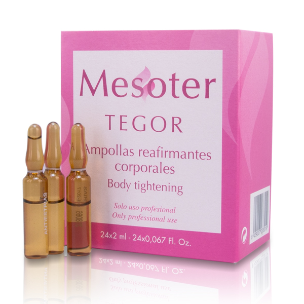 TEGOR Концентрат улучшающий тонус кожи тела / Body Tightening Ampoules - Reafirmantes Corporales 24*2мл tegoder лосьон улучшающий тонус кожи тела tegoder ampoules body tightening tdc 90007 24 2 мл page 2