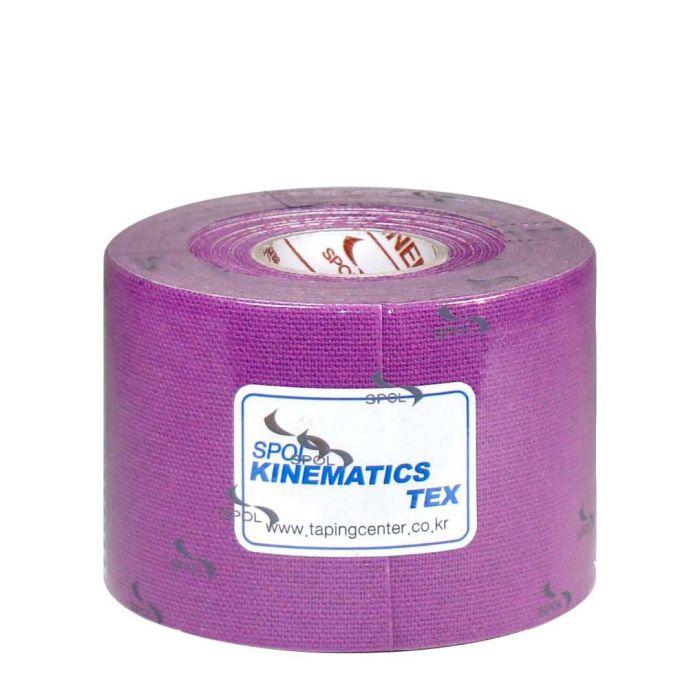 SPOL Кинезио тейп фиолетовый 5 см х 5 м SPOL TAPE