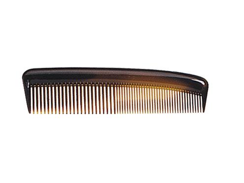 TITANIA Расческа T карманная ж/кор. / TITANIAРасчески<br>Расческа пластиковая Titania 125 мм. желто-коричневая. Можно использовать как в салонах красоты, так и в быту.<br>