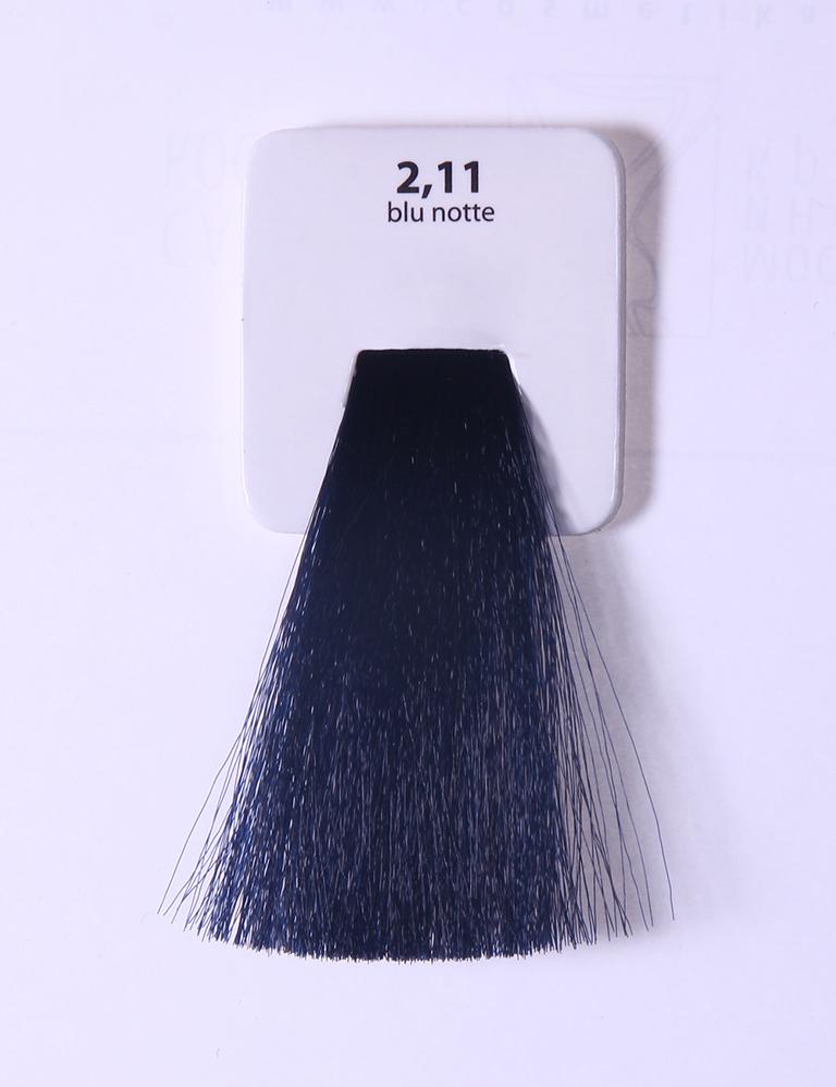 KAARAL 2.11 краска для волос / Sense COLOURS 100млКраски<br>2.11 синяя ночь Перманентные красители. Классический перманентный краситель бизнес класса. Обладает высокой покрывающей способностью. Содержит алоэ вера, оказывающее мощное увлажняющее действие, кокосовое масло для дополнительной защиты волос и кожи головы от агрессивного воздействия химических агентов красителя и провитамин В5 для поддержания внутренней структуры волоса. При соблюдении правильной технологии окрашивания гарантировано 100% окрашивание седых волос. Палитра включает 93 классических оттенка. Способ применения: Приготовление: смешивается с окислителем OXI Plus 6, 10, 20, 30 или 40 Vol в пропорции 1:1 (60 г красителя + 60 г окислителя). Суперосветляющие оттенки смешиваются с окислителями OXI Plus 40 Vol в пропорции 1:2. Для тонирования волос краситель используется с окислителем OXI Plus 6Vol в различных пропорциях в зависимости от желаемого результата. Нанесение: провести тест на чувствительность. Для предотвращения окрашивания кожи при работе с темными оттенками перед нанесением красителя обработать краевую линию роста волос защитным кремом Вaco. ПЕРВИЧНОЕ ОКРАШИВАНИЕ Нанести краситель сначала по длине волос и на кончики, отступив 1-2 см от прикорневой части волос, затем нанести состав на прикорневую часть. ВТОРИЧНОЕ ОКРАШИВАНИЕ Нанести состав сначала на прикорневую часть волос. Затем для обновления цвета ранее окрашенных волос нанести безаммиачный краситель Easy Soft. Время выдержки: 35 минут. Корректоры Sense. Используются для коррекции цвета, усиления яркости оттенков, создания новых цветовых нюансов, а также для нейтрализации нежелательных оттенков по законам хроматического круга. Содержат аммиак и могут использоваться самостоятельно. Оттенки: T-AG - серебристо-серый, T-M - фиолетовый, T-B - синий, T-RO - красный, T-D - золотистый, 0.00 - нейтральный. Способ применения: для усиления или коррекции цвета волос от 2 до 6 уровней цвета корректоры добавляются в краситель по Правилу пятнадцати: от