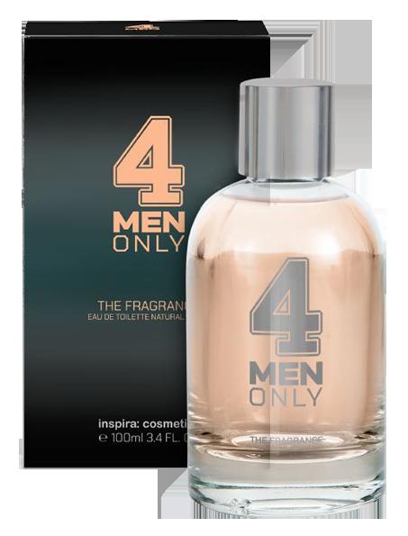 INSPIRA COSMETICS Вода туалетная для мужчин / 4 Men Only 100 мл