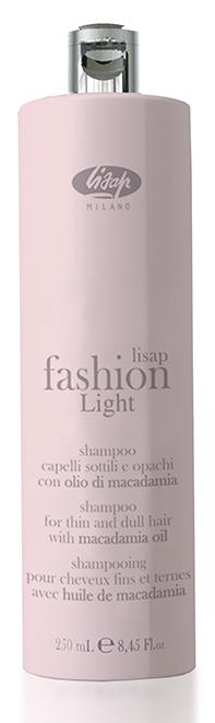 LISAP MILANO Шампунь экстра мягкий очищающий для тонких и ослабленных волос / Shampoo FASHION LIGHT 250мл