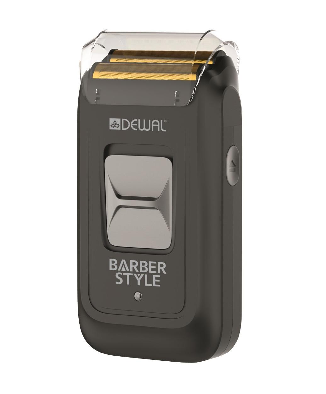Купить DEWAL PROFESSIONAL Шейвер для проработки контуров и бороды Barber style, аккумуляторно-сетевой, 5 W