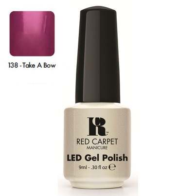 "RED CARPET 138 ����-��� ��� ������ ""Take A Bow"" / LED Gel Polish 9��~"