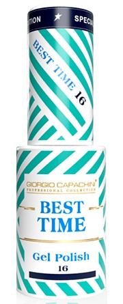 GIORGIO CAPACHINI 16 гель-лак трехфазный для ногтей / BEST TIME 8 мл.