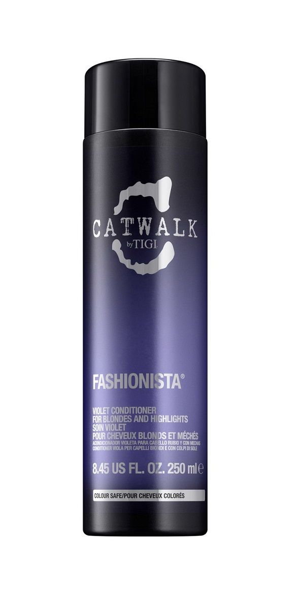 TIGI Кондиционер для коррекции цвета осветленных волос / CATWALK Fashionista 250 мл