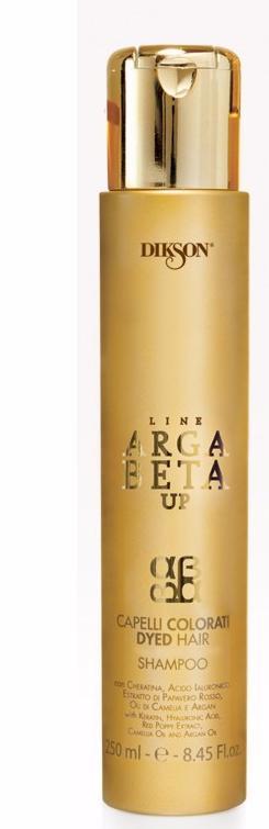 DIKSON Шампунь для окрашенных волос с кератином / ARGABETA UP Capelli Colorati 250мл
