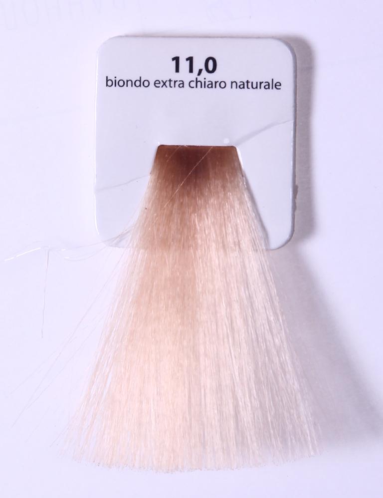 KAARAL 11.0 краска для волос / Sense COLOURS 60млКраски<br>11.0 экстра светлый натуральный блондин Перманентные красители. Классический перманентный краситель бизнес класса. Обладает высокой покрывающей способностью. Содержит алоэ вера, оказывающее мощное увлажняющее действие, кокосовое масло для дополнительной защиты волос и кожи головы от агрессивного воздействия химических агентов красителя и провитамин В5 для поддержания внутренней структуры волоса. При соблюдении правильной технологии окрашивания гарантировано 100% окрашивание седых волос. Палитра включает 93 классических оттенка. Способ применения: Приготовление: смешивается с окислителем OXI Plus 6, 10, 20, 30 или 40 Vol в пропорции 1:1 (60 г красителя + 60 г окислителя). Суперосветляющие оттенки смешиваются с окислителями OXI Plus 40 Vol в пропорции 1:2. Для тонирования волос краситель используется с окислителем OXI Plus 6Vol в различных пропорциях в зависимости от желаемого результата. Нанесение: провести тест на чувствительность. Для предотвращения окрашивания кожи при работе с темными оттенками перед нанесением красителя обработать краевую линию роста волос защитным кремом Вaco. ПЕРВИЧНОЕ ОКРАШИВАНИЕ Нанести краситель сначала по длине волос и на кончики, отступив 1-2 см от прикорневой части волос, затем нанести состав на прикорневую часть. ВТОРИЧНОЕ ОКРАШИВАНИЕ Нанести состав сначала на прикорневую часть волос. Затем для обновления цвета ранее окрашенных волос нанести безаммиачный краситель Easy Soft. Время выдержки: 35 минут. Корректоры Sense. Используются для коррекции цвета, усиления яркости оттенков, создания новых цветовых нюансов, а также для нейтрализации нежелательных оттенков по законам хроматического круга. Содержат аммиак и могут использоваться самостоятельно. Оттенки: T-AG - серебристо-серый, T-M - фиолетовый, T-B - синий, T-RO - красный, T-D - золотистый, 0.00 - нейтральный. Способ применения: для усиления или коррекции цвета волос от 2 до 6 уровней цвета корректоры добавляются в краситель по