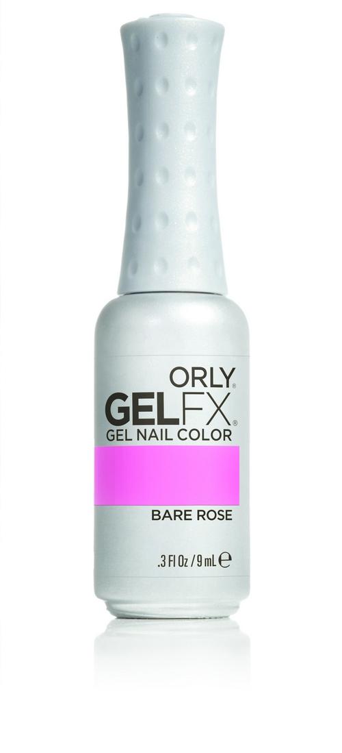 ORLY Гель-лак 5 BARE ROSE FM / GEL FX 9млГель-лаки<br>Цветные покрытия гель-лака GELFX – это широкая палитра, разнообразие цветов, яркие чистые оттенки. Гель-маникюр GELFX обеспечивает ногтям идеальное покрытие, дополнительное питание и уход. Он просто наносится, легко и безопасно снимается. Состав: Di-HEMA триметилгексил дикарбомат, HEMA, гидроксипропил метакрилат, полиэтилен гликоль 400 диметакрилат, этилацетат, бутилацетат, изопропил, триметилбензоил дифенилфосфин оксид, гидроксициклогексил фенил кетон. Способ применения: нанесите два тонких слоя выбранного цветного покрытия GELFX Nail Lacquer, запечатайте торец и полимеризуете каждый слой в лампе LED 480 FX в течение 30 секунд. Идеальный гель-маникюр возможен только при условии использования всех препаратов и аксессуаров системы GELFX от ORLY.<br><br>Цвет: Розовые<br>Пол: Женский<br>Класс косметики: Универсальная<br>Виды лака: Глянцевые