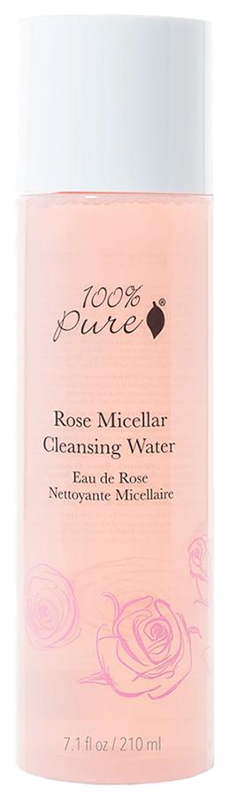 100% PURE Вода розовая мицеллярная очищающая 210 мл