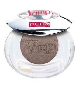 """PUPA Тени компактные 401 """"VAMP!"""" серо-коричневый металлический, 2,5гр"""