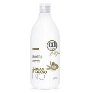 CONSTANT DELIGHT Шампунь гидро баланс / GRANO 1000 млШампуни<br>Специальный очищающий шампунь для сухих волос. Биологически активные компоненты: масло арганы и пшеница, содержащие высокую концентрацию витамина Е (антиоксидант), смягчают сухую кожу головы и укрепляют волосы по всей длине. Способ применения: нанести шампунь, слегка помассировать 1-3 минуты до образования пены, эмульгировать с небольшим количеством воды. Тщательно смыть теплой водой. При необходимости повторить процедуру.<br><br>Объем: 1000 мл<br>Вид средства для волос: Очищающий<br>Тип кожи головы: Сухая<br>Типы волос: Сухие