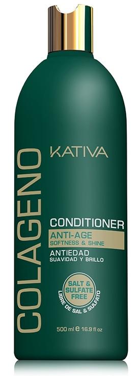 Купить KATIVA Кондиционер коллагеновый для волос / COLLAGENO 500 мл